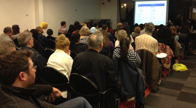 Review of Event: Spring Meeting 2014