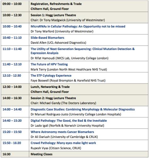 IWT2014 Programme